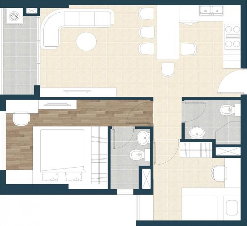 Tư vấn thiết kế nội thất chung cư Tropic Garden 65m2