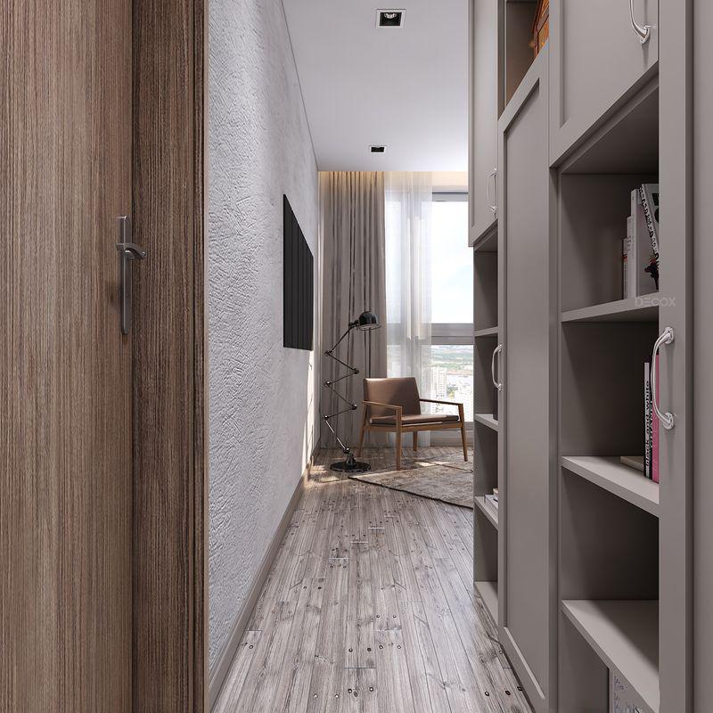Thiết kế nội thất chung cư 140m2 Vinhomes Central Park – Chị Trân