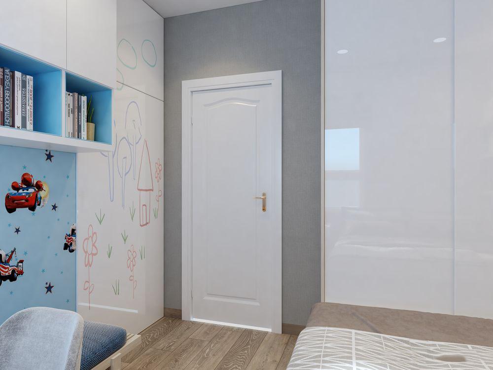 Thiết kế nội thất chung cư Topaz Garden 67m2 – Chị Ái