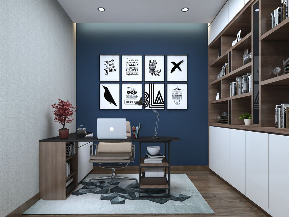 Thiết kế nội thất chung cư Lexington 83m2 – Anh Andy
