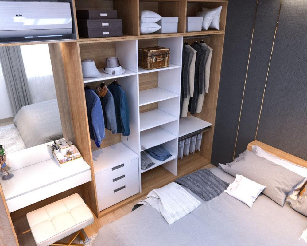 Thiết kế nội thất chung cư I Home 59m2 – Anh Tùng