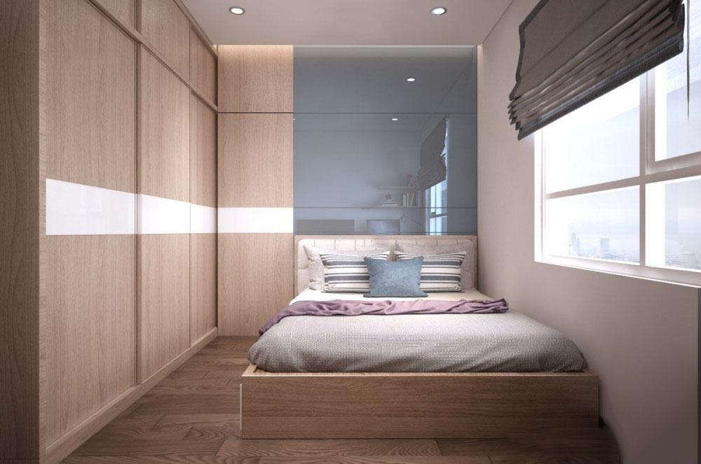 Thiết kế nội thất chung cư Topaz Garden 62m2 – Anh Sao