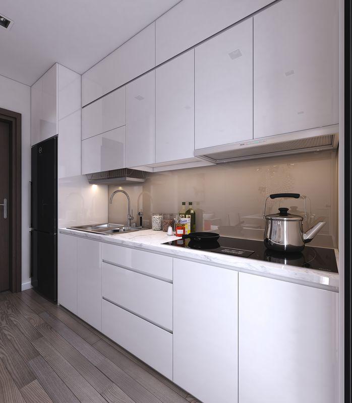 Thiết kế nội thất chung cư Lexington 48m2 – Anh Đăng