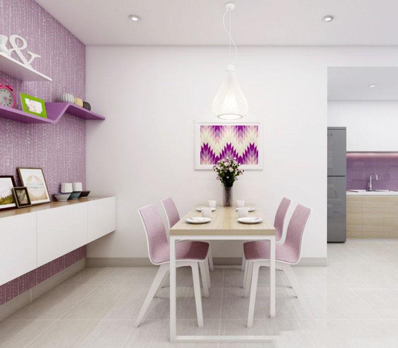 Thiết kế nội thất chung cư Lexington 48.5m2 – Anh Dũng