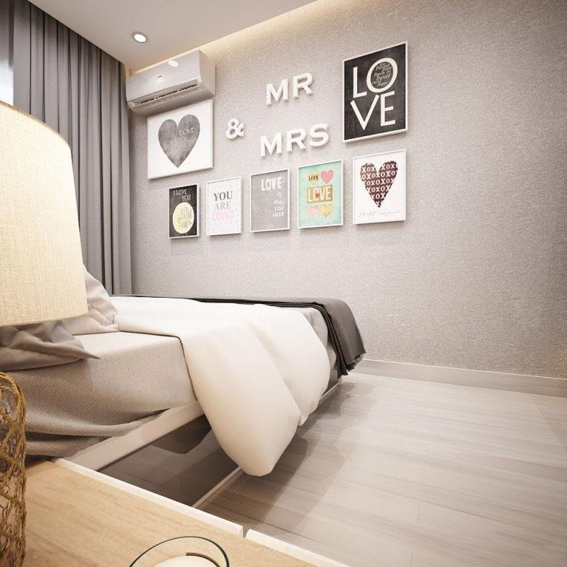 Thiết kế nội thất chung cư 46m2