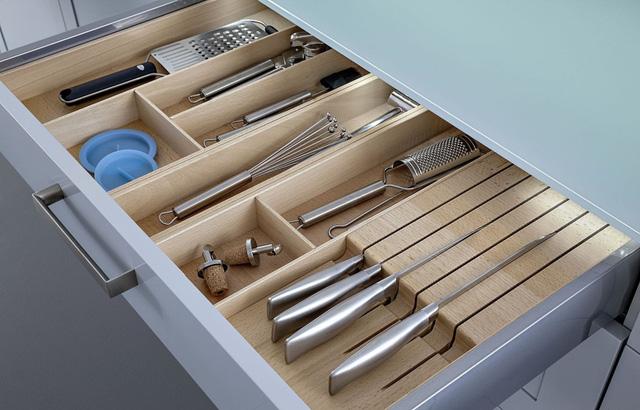Bí quyết giúp tủ bếp tối ưu hóa 95% diện tích sử dụng