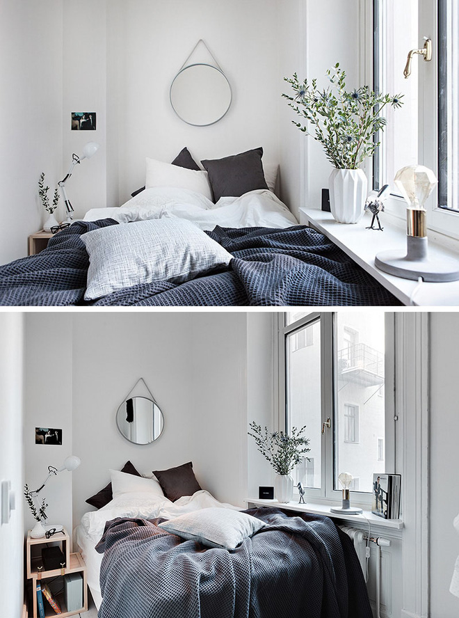 Muốn có phòng ngủ chuẩn phong cách Scandinavian thì không thể bỏ qua 4 điều này