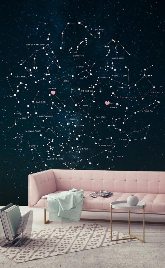 """10 ý tưởng """"dễ như ăn kẹo"""" để mang cả dải ngân hà vào không gian sống"""