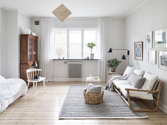 Căn hộ vỏn vẹn 30m² đẹp lãng mạn nhờ trang trí theo phong cách Vintage