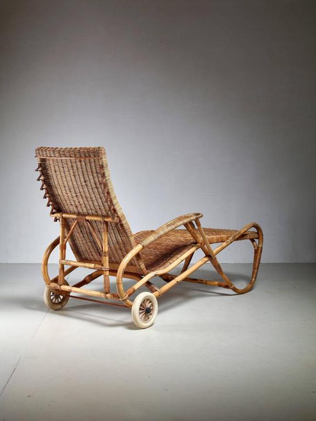 10 mẫu ghế thư giãn bằng chất liệu mây tre đan đẹp kinh điển của những thập niên trước