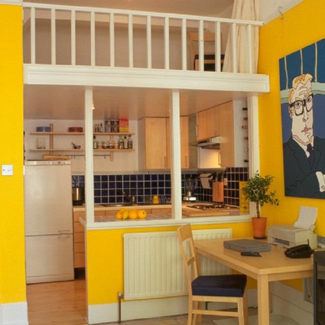 Những mẹo thông minh giúp phòng bếp nhỏ trông rộng thoáng bất ngờ