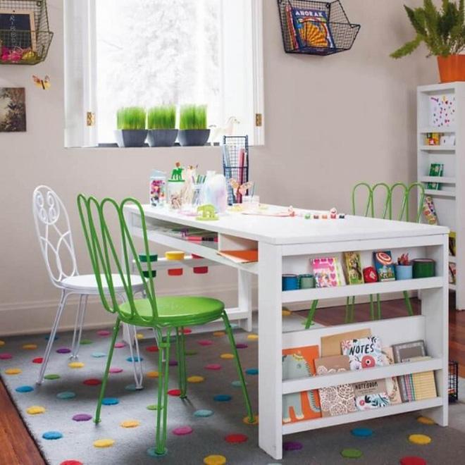 """Bố mẹ đã biết đến thiết kế """"bàn học đa năng"""" cho con chưa, tham khảo ngay để sắm cho bé nhé"""