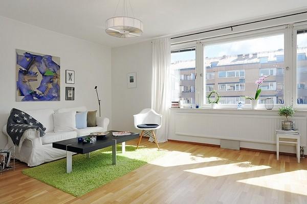 Chỉ 44m² nhưng nhờ cách bài trí mà căn hộ này trông rộng đến khó tin