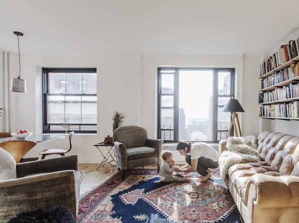 Căn hộ 1 phòng ngủ lột xác diệu kỳ để trở thành tổ ấm cho gia đình 4 người
